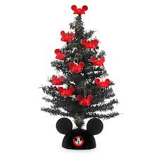 your wdw store disney tree miniature santa mickey