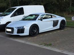 nardo grey r8 spotted this u002765 u0027 plate audi r8 v10 outside a rock climbing centre