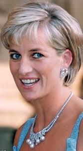 diana hairstyle that was her crowning glory daily mail online