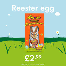reese s easter bunny lidl is selling a 3 easter chocolate bunny filled with reese s