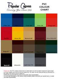 list of colours materials and colours