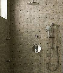 decoration ideas simple and neat brown mosaic ceramic tile wall