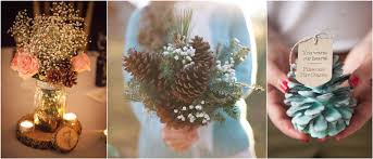 Pine Cone Wedding Table Decorations 35 Pinecones Wedding Ideas For Your Winter Wedding
