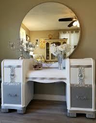 Refinish Vanity Cabinet Best 25 Refinished Vanity Ideas On Pinterest Old Vanity Blue
