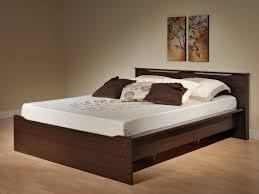 platform bed queen platform bed wood collected oak bed frame