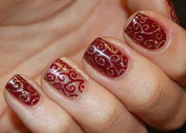 red design nails gallery nail art designs
