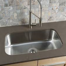 Under Mount Sink Essential U  Single Bowl Undermount Kitchen - Stainless steel single bowl kitchen sink