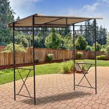 Replacement Awnings For Gazebos Outdoor Grill Gazebo Bbq Canopy Barbeque With Adjustable Awning