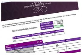 Wedding Day Planner Free Wedding Day Budget Calculator And Planner Elegant Wedding