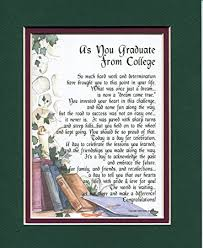 college graduation gifts for 143 a graduation gift present poem for the college