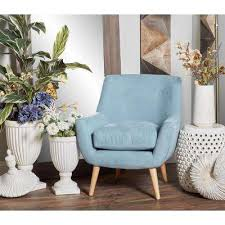 Light Blue Accent Chair Blue Chairs Living Room Furniture The Home Depot