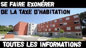 taxe d habitation chambre chez l habitant se faire exonérer de la taxe d habitation les informations