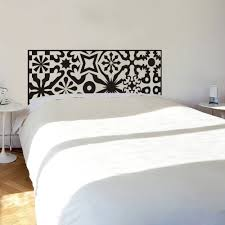 headboard wall art quilted headboard wall decal vinyl art wall sticker bed decoration
