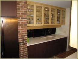 appealing bamboo kitchen cabinets with double single doors kitchen