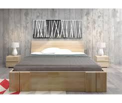 letto cassetti letto in legno vestre in faggio con cassetti vivere zen