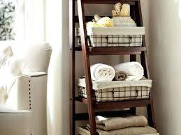Bathroom Ladder Shelves Bathroom Ladder Shelves Wire Small Glass Bathroom Shelf Metal