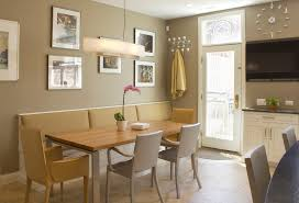 Beach Cottage Kitchen by Kitchen Bench Seat Dining Room Beach With Banquette Beach Cottage