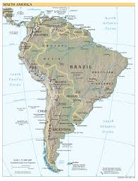 France Map Cities by Maps Of South America And South American Countries Political