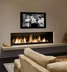 Recessed Electric Fireplace Modern Linear Gas Fireplaces Bring Light Warmth And Ambiance To