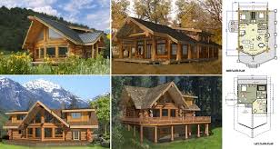 2 Story Log Cabin Floor Plans Build This Cozy Cabin For Under 6000 Home Design Garden