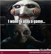 Smeagol Memes - only smeagol wants to play by forged meme center