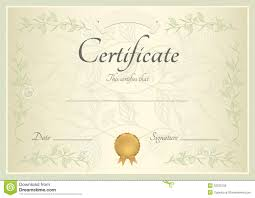business certificates templates letter of intent to purchase goods
