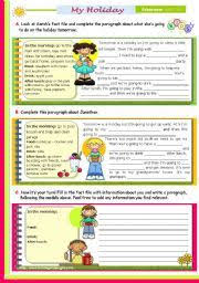 english worksheet my dream job writing series for upper