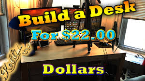 gaming setup ideas diy gaming desk build the 22 desk build