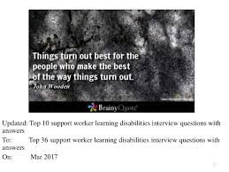 cover letter cover letter for disability support worker free