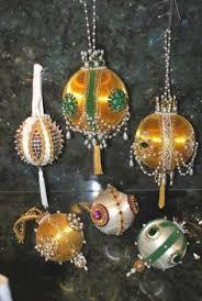 vintage satin handmade ornaments beaded sequin 10