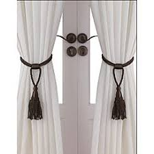 Curtains With Ties Tiebacks Curtain Tiebacks Sears