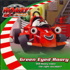 green eyed roary roary racing car bookoutlet