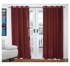 buy stripe 127 cm x 213 cm door curtain set of 2 home by