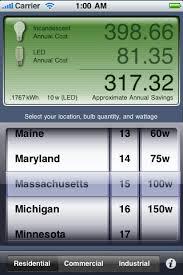 light bulb cost calculator led light bulb savings calculator iphoneappdesigns com