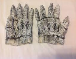 halloween skeleton gloves vintage halloween latex skeleton gloves fromthe paper magic group