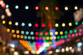 blurred photo bokeh abstract lights background for new year