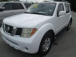 used nissan pathfinder used nissan pathfinder under 7 000 in florida for sale used