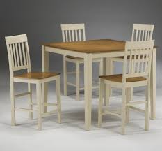lindsey 5piece dining set burnished oak finish dinette has a