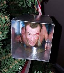 yippe ki yay die tree ornament hooray for