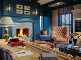Dark Blue Accent Wall by Best Ideas About Blue Accent Walls Inspirations Also Living Room