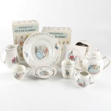 wedgwood rabbit tea set wedgwood rabbit tea set pieces ebth