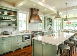 Modern Green Kitchen Cabinets Light Green Kitchen Cabinets Bloomingcactus Me