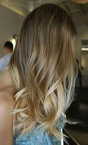 ombre hair growing out sunkissed streaks long blonde tumbling locks hair and beauty