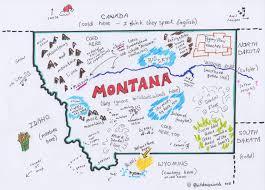 A Map Of Montana by Montana They Ignore Bill Davis Words Bill Davis U0027 Words