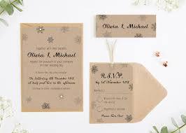 Snowflake Wedding Invitations Kraft Snowflake Wedding Invitation Bundle Norma U0026dorothy