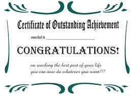 free printable certificates and awards to include in your gift basket
