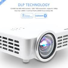 amazon com icodis cb 800 short throw projector 800 ansi lumens