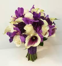 Purple Carnations Purple Mokara Dark Purple Carnations Picasso Calla Vendella