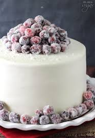 Christmas Cakes And Decorations by Sparkling Cranberry White Chocolate Cake Life Love And Sugar