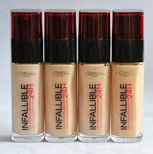 l oreal infallible 24h stay fresh foundation